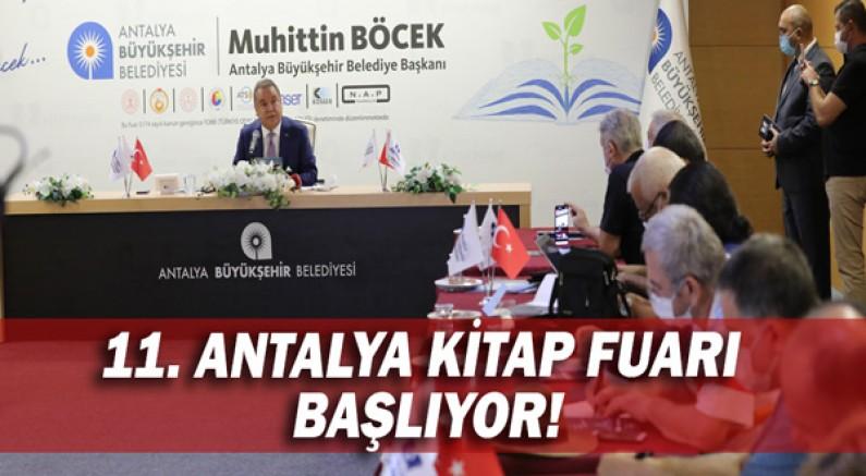 11. Antalya Kitap Fuarı başlıyor!