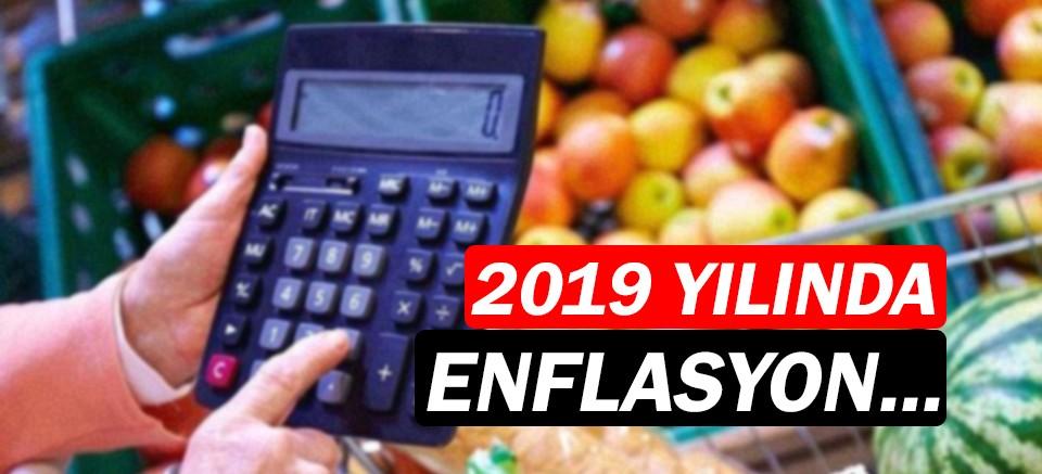 2019 yılı enflasyon oranı açıklandı!
