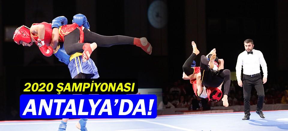 2020 Türkiye Wushu Kung Fu Şampiyonası Antalya'da başlıyor!