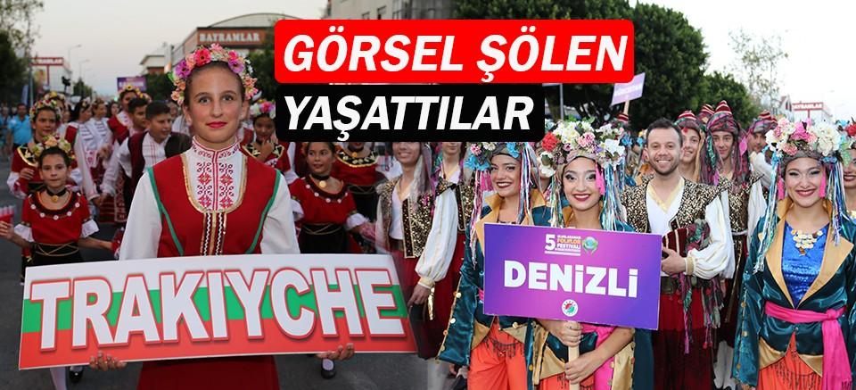 5. Uluslararası Folklor Festivali başladı!
