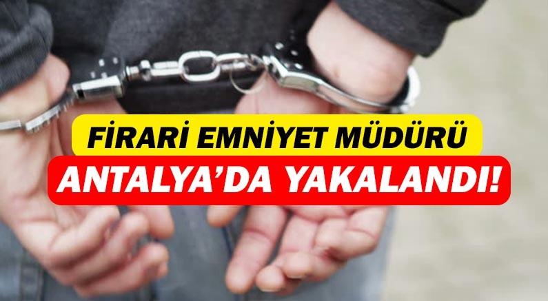 5 yıl sonra Antalya'da yakalandı!