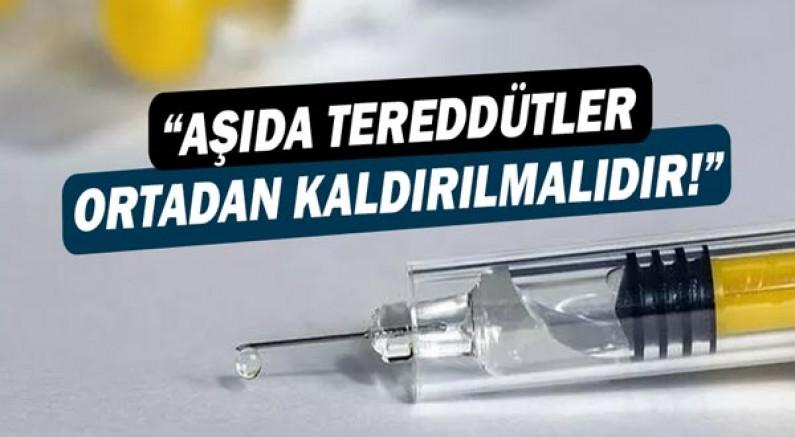 AHEF: Covid19 aşısı ile ilgili tereddütler ortadan kaldırılmalıdır!