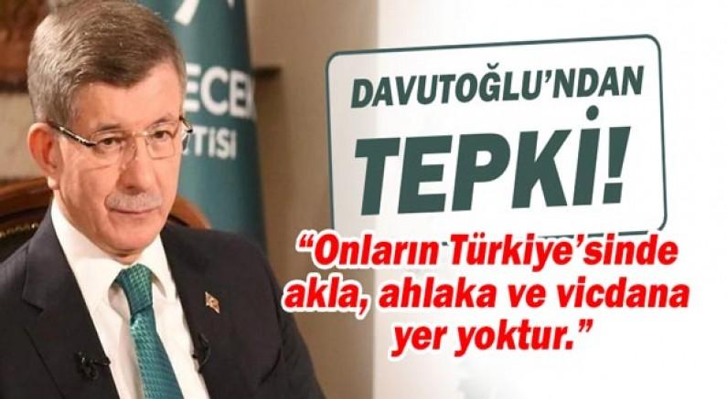 Ahmet Davutoğlu'ndan sert tepki: Son seçimlerde AKP'ye oy veren milyonlarca insanın da içi yanıyor!