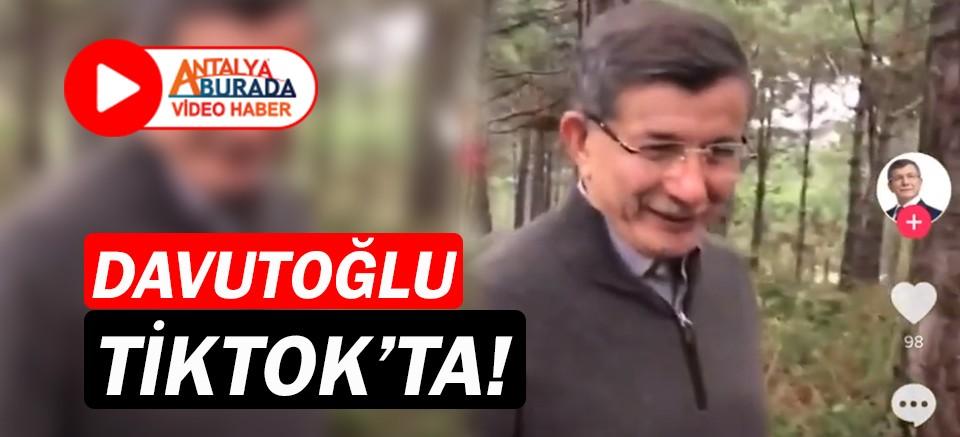 Ahmet Davutoğlu, TikTok'ta!