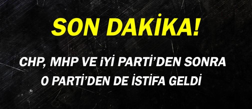 Antalya'dan bir istifa daha...