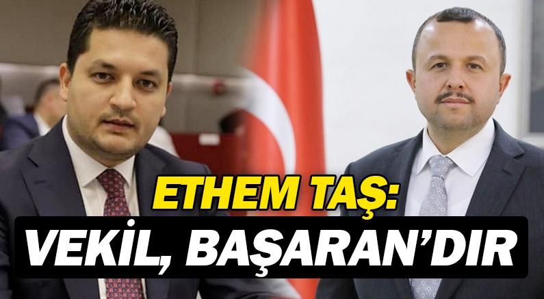 AK Parti Antalya İl Başkanı İbrahim Ethem Taş'tan Bakanlık kararına tepki.