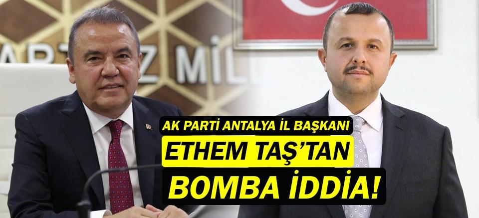 AK Parti Antalya İl Başkanı Taş'tan belediye şirketleri isyanı!