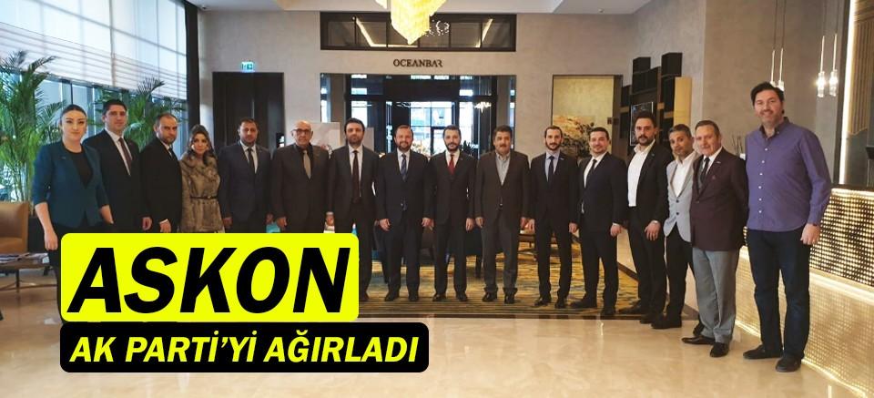 ASKON Antalya, AK Parti ile bir arada