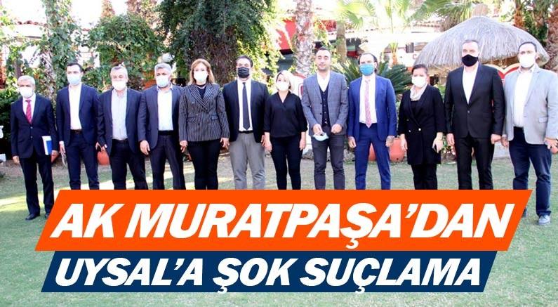 AK Parti Muratpaşa İlçe Başkanı Osman Ülker'den Ümit Uysal'a suçlama...
