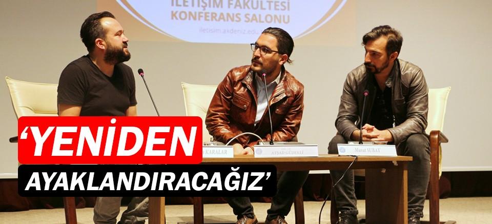 Akdeniz'de Enver Engin Karalar ve Murat Subay söyleşisi