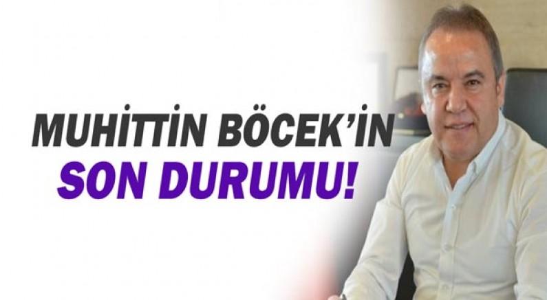 Akdeniz Üniversitesi Hastanesi Muhittin Böcek'in son durumunu paylaştı.