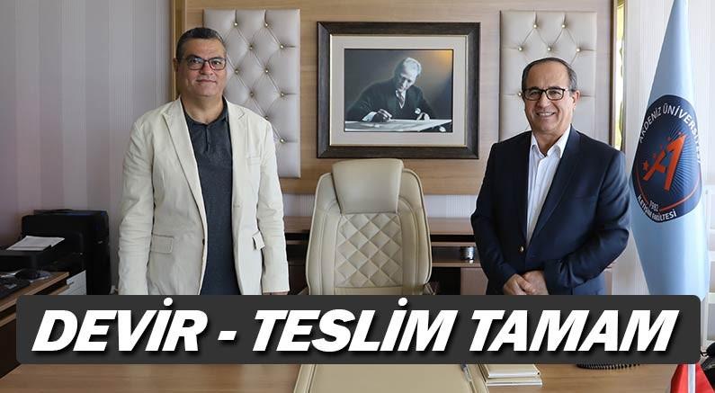 Akdeniz Üniversitesi İletişim Fakültesi'nin yeni dekanı Prof. Dr. Mustafa Şeker oldu.