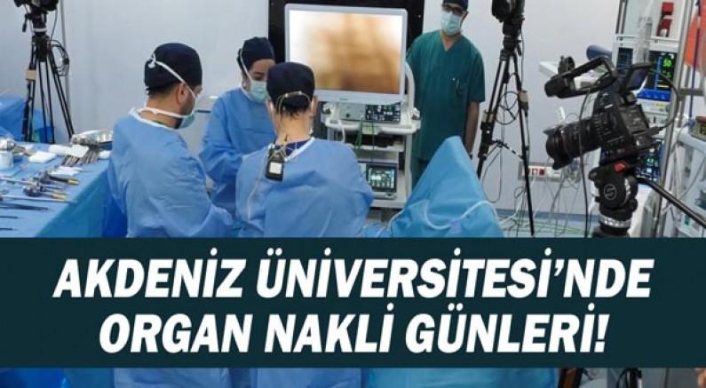 Akdeniz Üniversitesi'nde hedef ince bağırsak ve akciğer tnakli