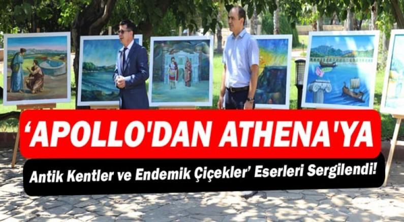 Akdeniz Üniversitesi'nden 'Apollo'dan Athena'ya sergi!