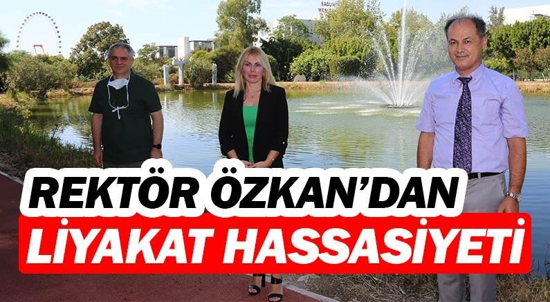 Akdeniz Üniversitesi Rektörü Prof. Dr. Özlenen Özkan, liyakat dedi ekledi...