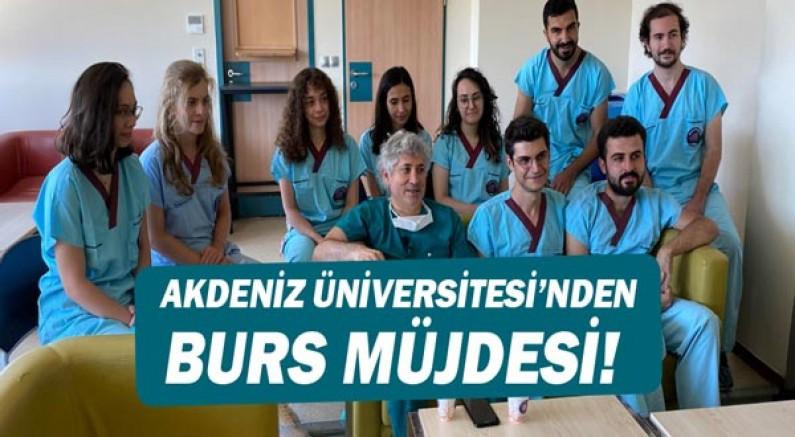 Akdeniz Üniversitesinden burs müjdesi