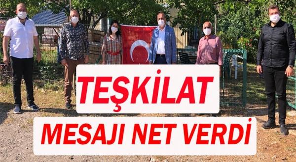 AKP Kemer İlçe Başkanı muhtarları ziyaret etti