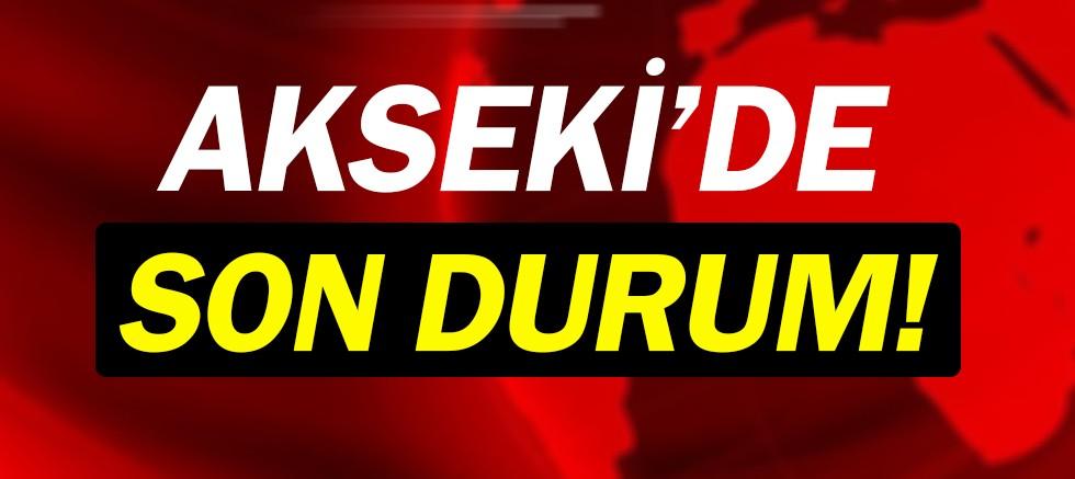 Akseki'de seçim sonuçları!