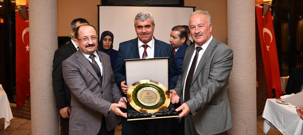 Aksu'da Süleyman Gökçen'e veda