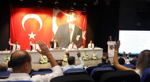 Alanya Belediye meclisi 3 ay aradan sonra toplandı