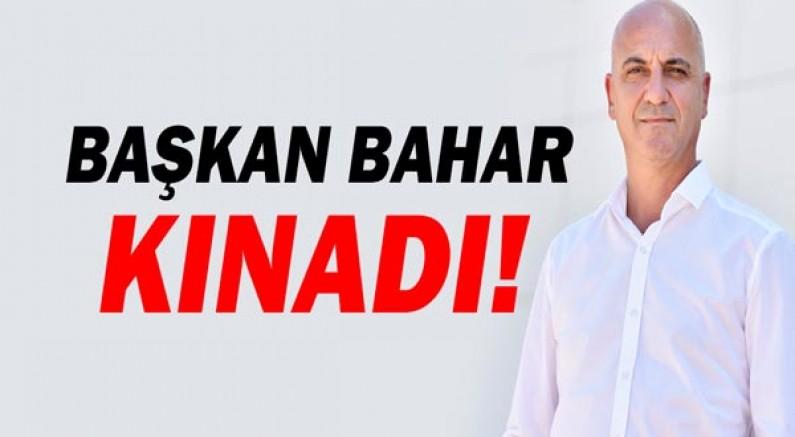 Ali Bahar, Encan Aydoğdu'yu kınadı!