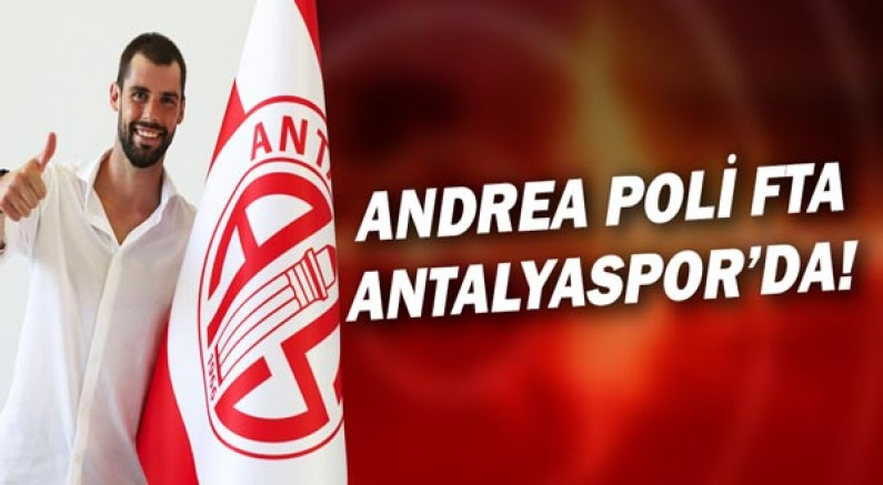 Andrea Poli FTA Antalyaspor'da