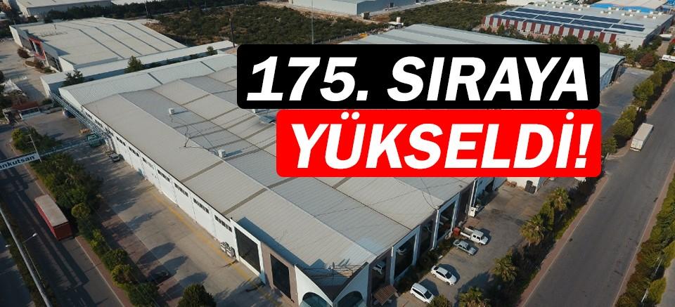 Ankutsan, Anadolu Kaplanları listesinde 175'inci sırada!