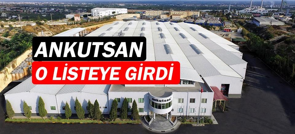 Ankutsan, Türkiye'nin en büyük 500 firması arasında!