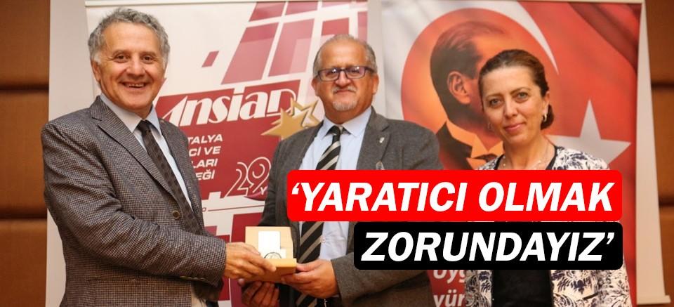 ANSİAD'ın konuğu Prof. Dr. Ruhi Kaykayoğlu oldu