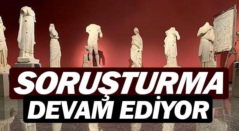 Antalya Arkeoloji ve Tarih Müzesi'nde bazı eserler kayıp.