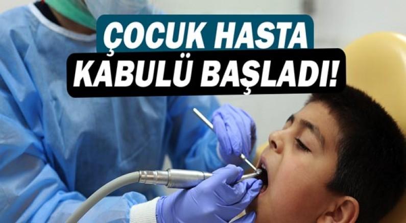 Antalya Büyükşehir Belediyesi Ağız ve Diş Sağlığı Merkezi çocuk hasta kabulüne başladı