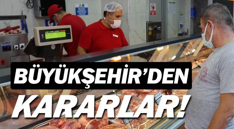 Antalya Büyükşehir Belediyesi'nden yeni kararlar...