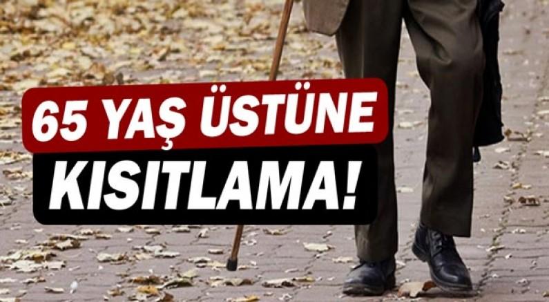 Antalya'da 65 yaş üstüne kısıtlama geldi!