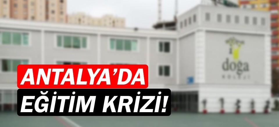 Antalya'da bir eğitim skandalı... Veliler de öğretmenler de mağdur!