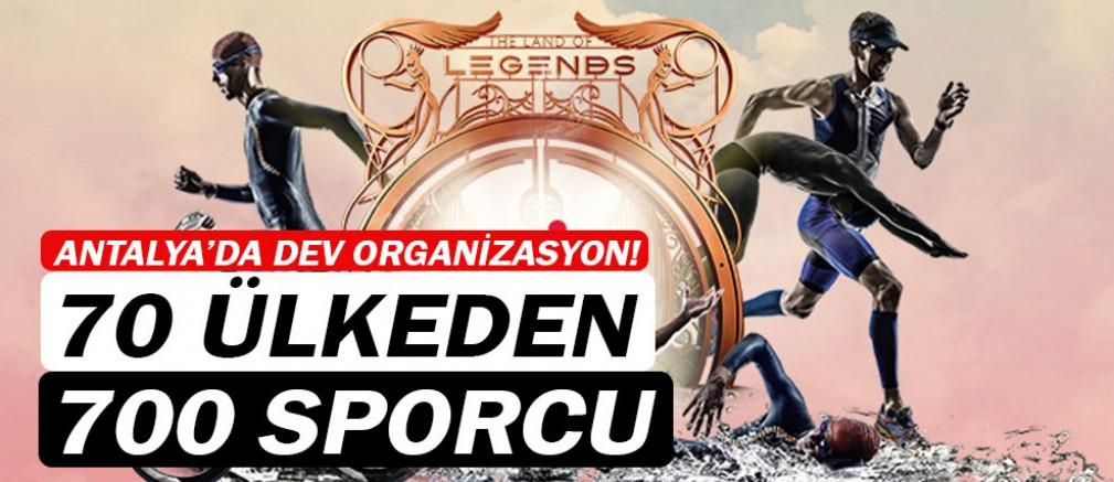 Antalya'da dev organizasyona ev sahipliği yapacak...