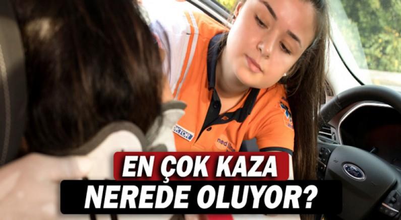 Antalya'da en çok kaza ve ilkyardım evde oluyor.