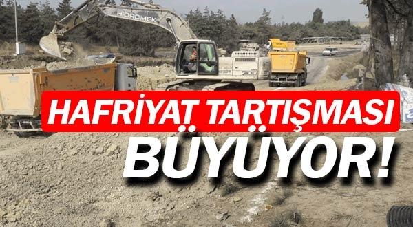 Antalya'da hafriyat tartışması büyüyor.