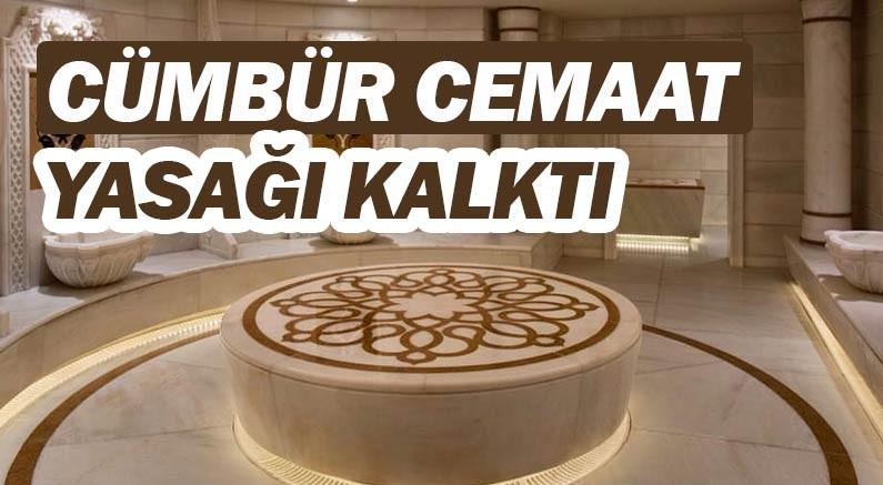 Antalya'da hamamlara getirilen yasak kalktı.