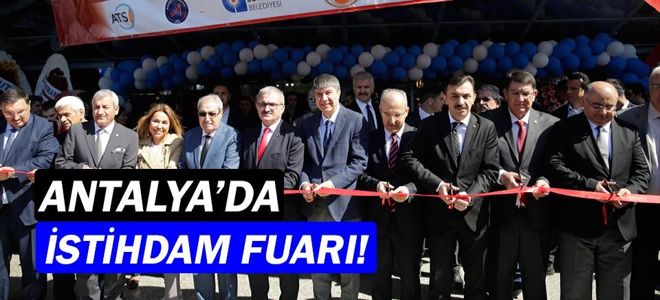 Antalya'da istihdam fuarı açıldı!