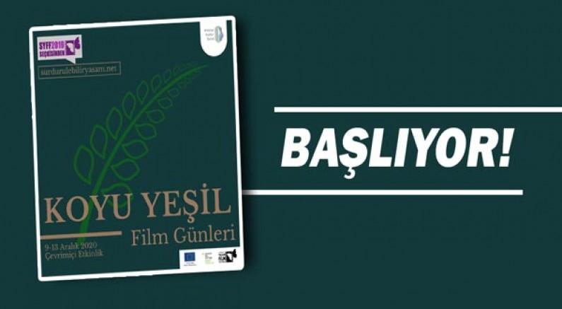 Antalya'da Koyu Yeşil Film Günleri başlıyor!