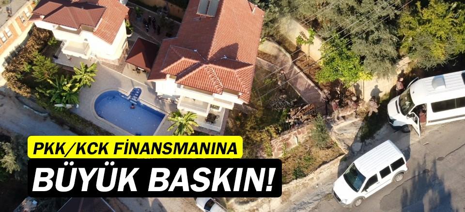 Antalya'da PKK/KCK operasyonu!