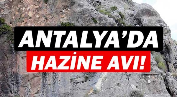 Antalya'da tarihi eserler tahrip edildi!
