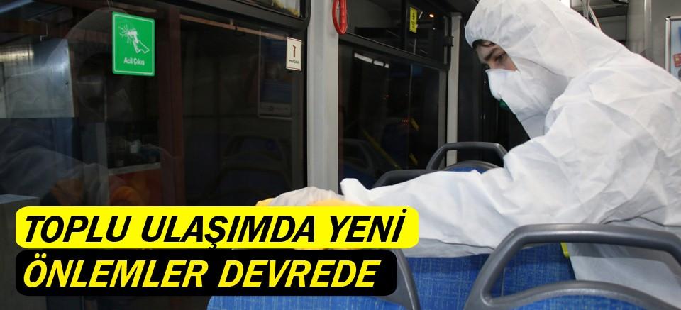 Antalya'da toplu ulaşımda yeni önlemler devrede