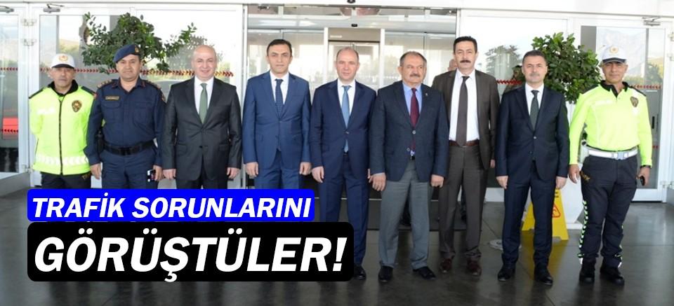 Antalya'da Trafik Bölge Değerlendirme Toplantısı