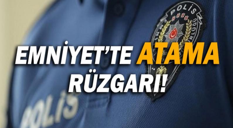 Antalya Emniyet'inde atama rüzgarı!