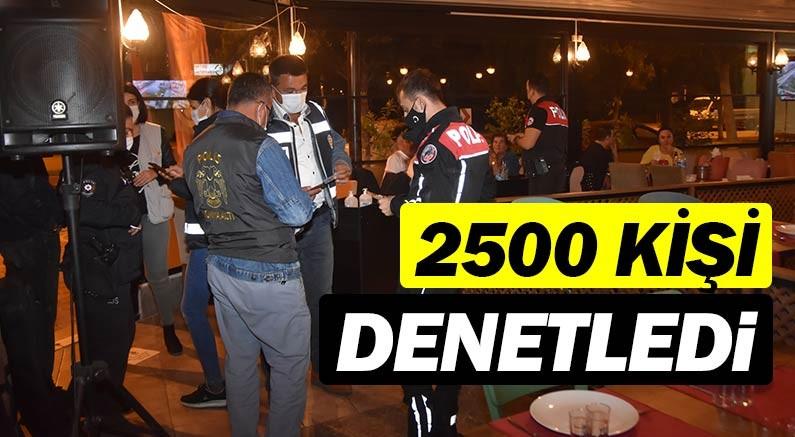 Antalya Emniyetinden 2500 görevli ile denetim...