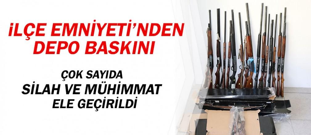 Antalya İlçe Emniyeti'nden silah operasyonu...