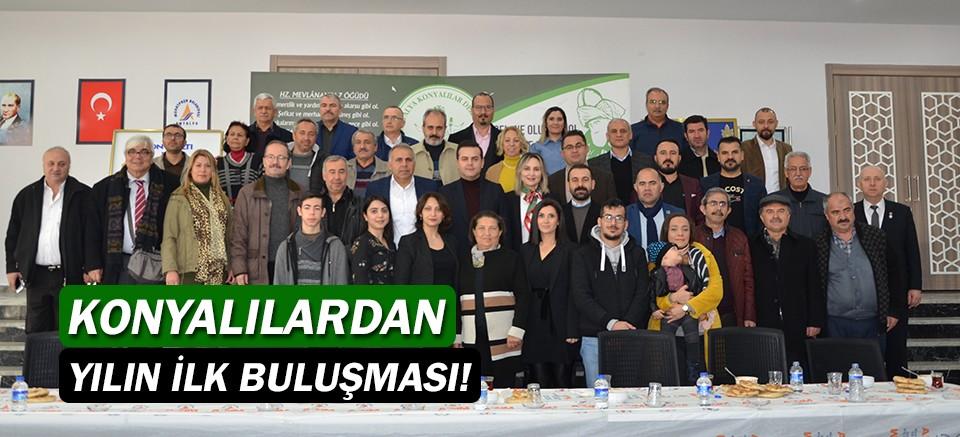 Antalya Konyalılar Derneği'nden yılın ilk buluşması!