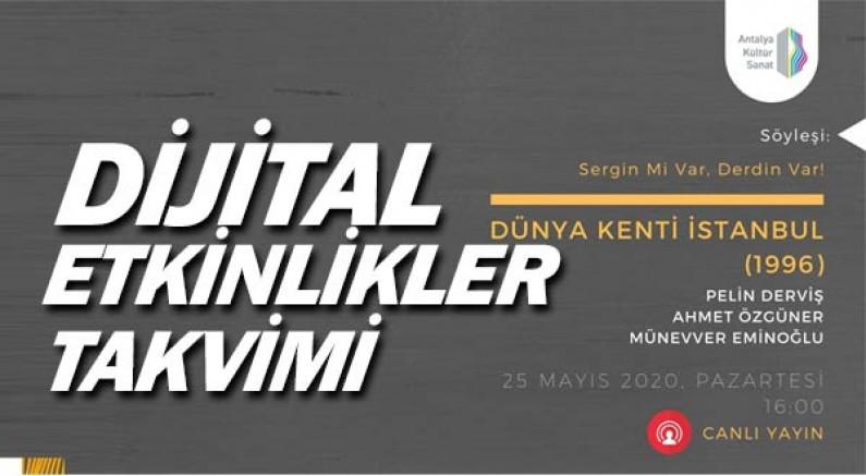 Antalya Kültür Sanat'tan dijital etkinlikler.