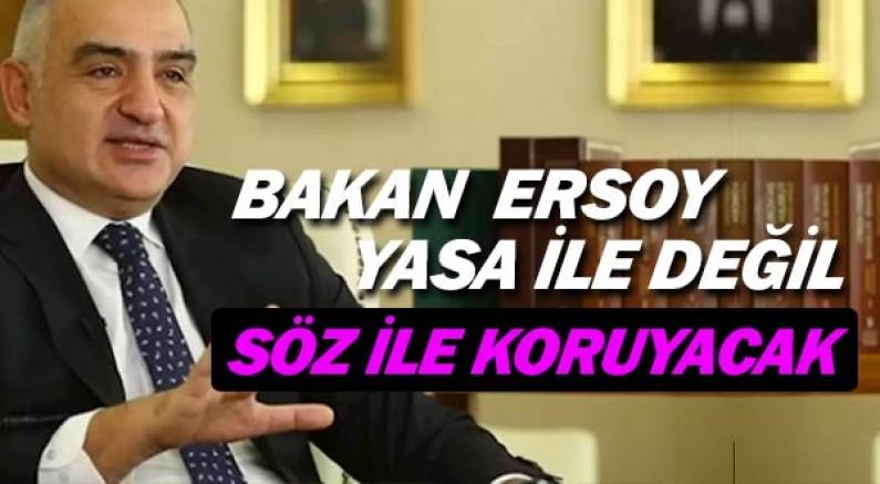 Antalya Kumluca'daki Olimpos yasa ile değil, söz ile korunacak.